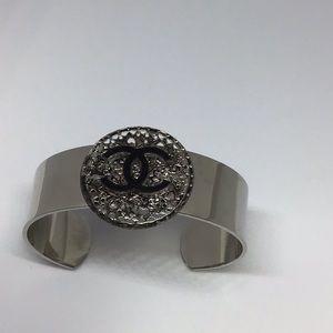 Jewelry - Stainless Steel cuff statement bracelet.